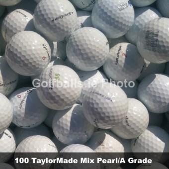 50 TaylorMade Mix Pearl/A Grade Golf Balls