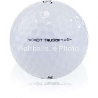 100 Titleist DT TRUSOFT - Pearl/A Grade Golf Balls