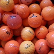 100 Orange Mix Pearl/A Grade Golf Balls
