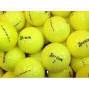 25 Srixon Z-Star Yellow Golf Balls - Pearl/A Grade