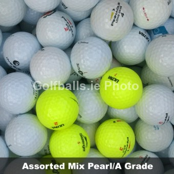 100 Assorted Value Mix Pearl/A Grade Golf Balls