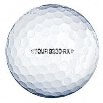 25 Bridgestone Tour B330-RX Golf Balls - Pearl/A Grade