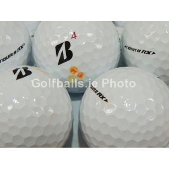 50 Bridgestone Tour B Golf Balls - Pearl/A Grade