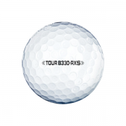 50 Bridgestone Tour B330-RXS Golf Balls - Pearl/A Grade