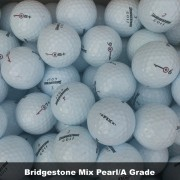 100 Bridgestone Mix Pearl/A Grade Golf Balls