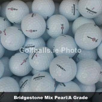 50 Bridgestone Mix Pearl/A Grade Golf Balls