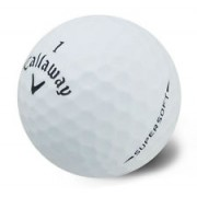 100 Callaway SUPERSOFT Pearl/A Grade Golf Balls - FREE SHIPPING