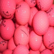 25 Callaway SUPERSOFT PINK - Pearl/A Grade Golf Balls
