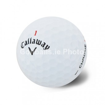 50 Callaway HEX CHROME Pearl/A Grade Golf Balls