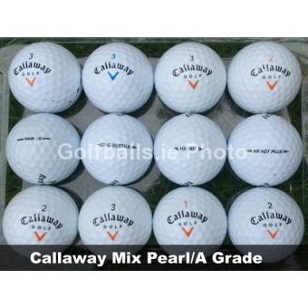 25 Callaway Mix Golf Balls - Pearl/A Grade