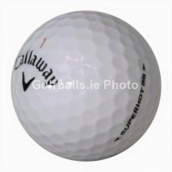 100 Callaway SuperHot 55 Golf Balls - Pearl/A Grade