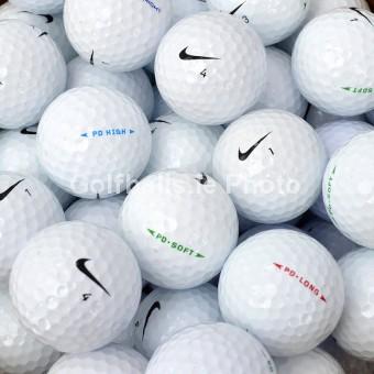 25 Nike PD Golf Balls - Pearl/A Grade