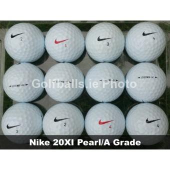 50 Nike 20XI Pearl/A Grade Golf Balls