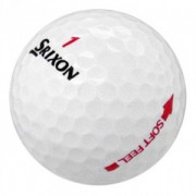 100 Srixon Soft Feel Lady Pearl/A Grade Golf Balls