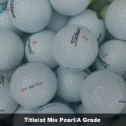 100 Titleist Mix Pearl/A Grade Golf Balls - FREE SHIPPING