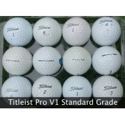 25 Titleist Pro V1 B Grade Used Golf Balls