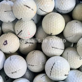 100 Tour Mix Golf Balls - B Grade