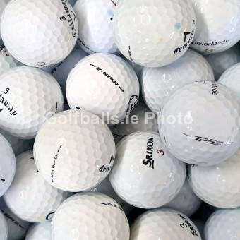 100 Tour Mix Golf Balls - Pearl/A Grade