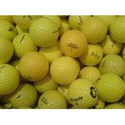 100 Yellow Mix Pearl/A Grade Golf Balls